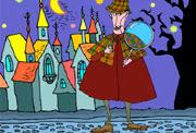 Halloween skattejakt