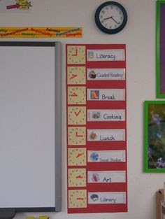 Student-centered resources, Key stages and Visual timetable on ...