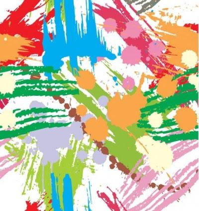 76+ Gambar Abstrak Cat Kekinian