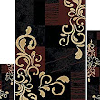 Amazon.com - Home Dynamix Ariana Collection 3-Piece Area Rug Set - Ultra Soft & Super Durable HD1879-502 Ebony/Red -