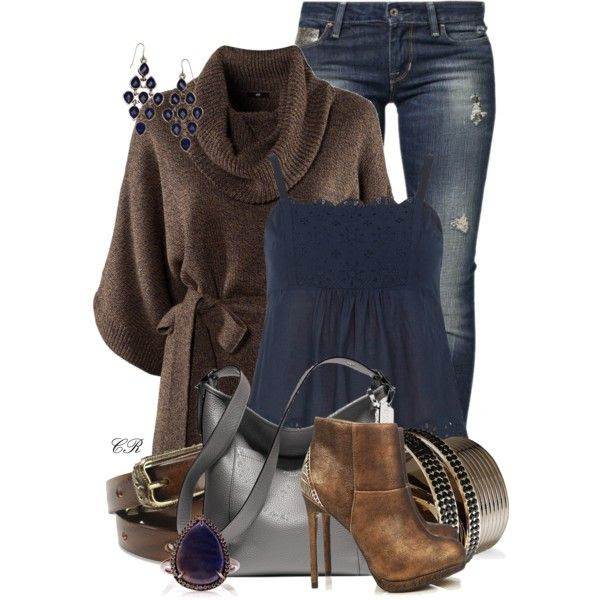 Skinny Jeans w/ Ankle Boots, created by colierollers on Polyvore
