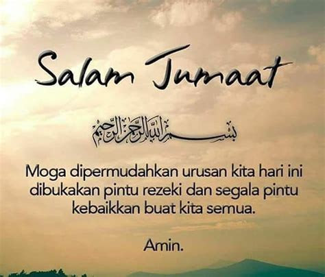 Kata Mutiara Islam Untuk Hari Jumat