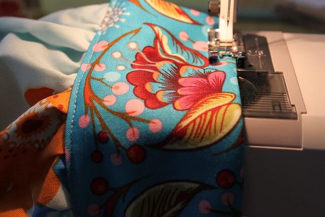 stitch waist band