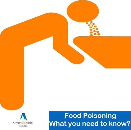 Food Poisoning – What you need to know? – Activ Doctors Online India