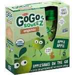 GoGo Squeeze Sauce - Apple - Case of 12 - 3.2 oz.