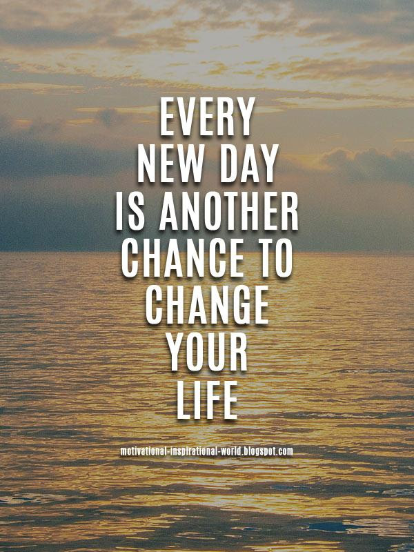 10millionmiler Every New Day Is At Inspiringthinkn Quotes
