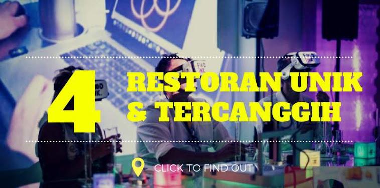 """4 Restoran Unik """"Penakluk"""" Teknologi Canggih di Dunia"""