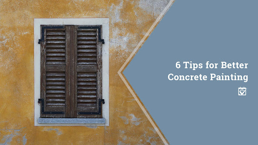 HomeKeepr | 6 Tips for Better Concrete Painting
