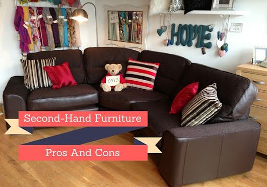 Second-hand furniture - PROS and CONS