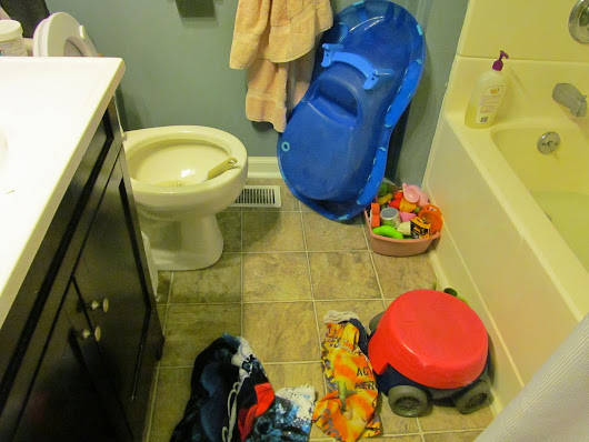 Friday Funny #2-Bathroom Etiquette and an Update - Mess to Blessed