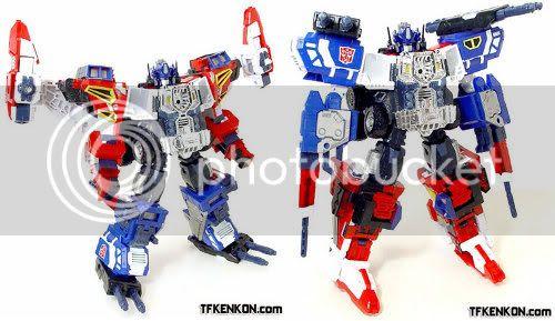 Energon Optimus Prime / Wing Saber