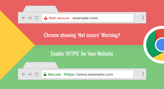 "Do you know how to fix the ""Not Secure"" Website in Google Chrome? 