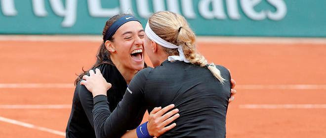 Kristina Mladenovic et Caroline Garcia remportent le double.