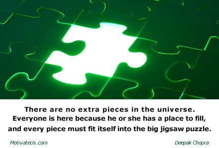 Life The Missing Puzzle Piece A Library Of Inspirational