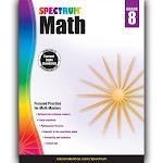 Carson Dellosa CD-704568 Spectrum Math Gr 8