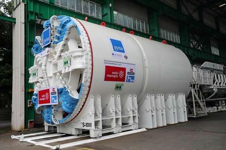 Una obra con 40 kilómetros de túneles para darle cloacas a 5 millones de personas
