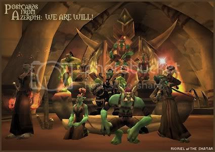 Postcards of Azeroth: We Are Will, by Rioriel Ail'thera