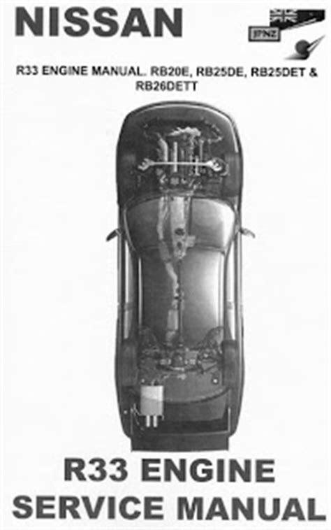 repair-manuals: Nissan Skyline R33 Engine Repair Manual