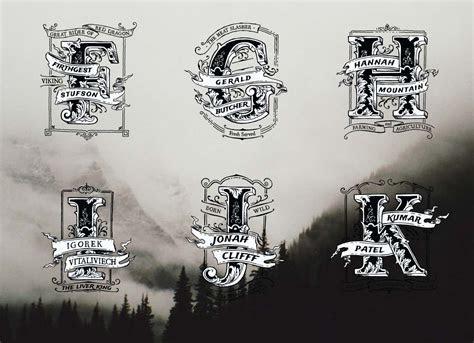 Vintage monogram name logo FK   Free download