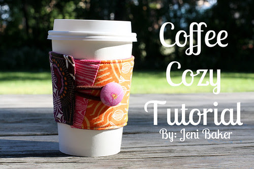 Coffee Cozy Tutorial - In Color Order