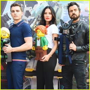Dave Franco, Justin Theroux & Olivia Munn Bring 'Lego Ninjago' to Comic-Con