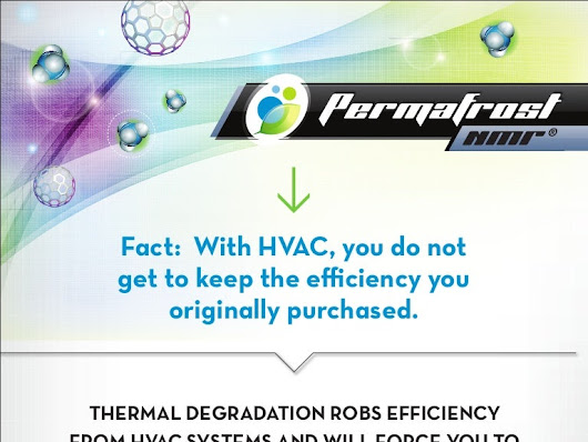 PermaFrost NMR - Restore Thermal Design Efficiency in HVAC Systems