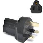 UK, England Travel Adapter - Type G - Industrial Grade (IG-7)