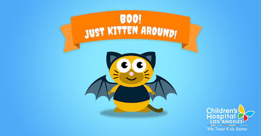 Send a Cat-o-Gram to a CHLA kid this Halloween!
