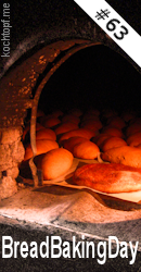 Bread Baking Day #63 - Topfbrot/Bread in a pot (last day of submission Januar 1, 2014)