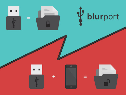 BlurPort: a new way to secure your data