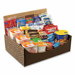 Snack Box Pros Dorm Room Survival , 55 Assorted Snacks