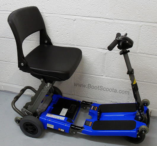 BootScoota - Used Luggie mobility scooter