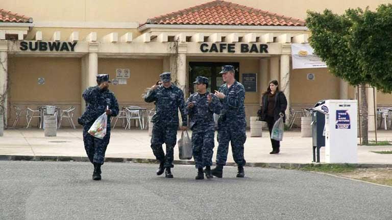 Americanos en la Base de Rota (Comando actualidad).