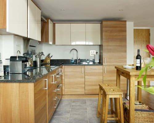 Simple Way to Paint Laminated Kitchen Cabinets - Home ...