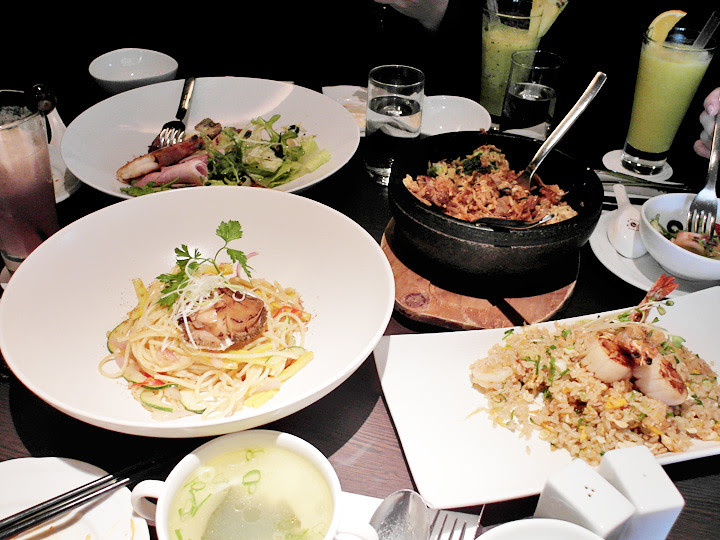 food at Azie Grand Cafe Regent Taipei