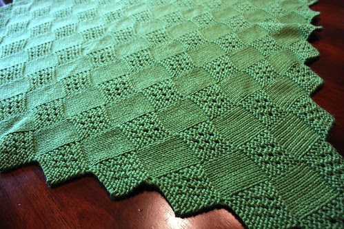 Eyelet Square Blanket 003