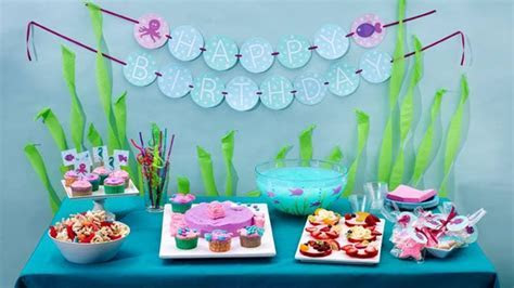 Under the Sea Birthday Party   BettyCrocker.com