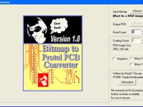 Bitmap (BMP) Protel PCB chuyển đổi