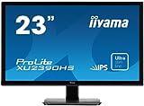 iiyama スリムベゼル+AH-IPSパネル『XUシリーズ』 FullHD(1920x1080)モード対応 WLEDバックライト23型ワイド液晶ディスプレイ XU2390HS-B1