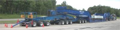 Big truck (rear view)