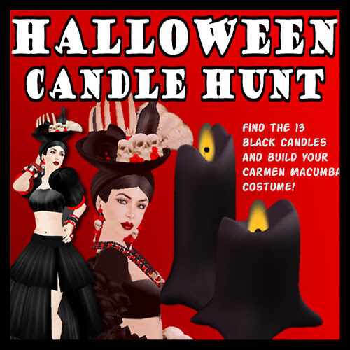 Halloween Candle Hunt @ Comme il Faut