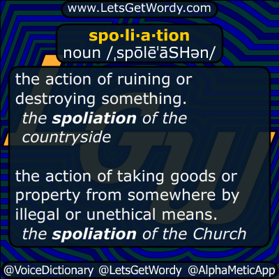 spoliation 03/24/2015 GFX Definition