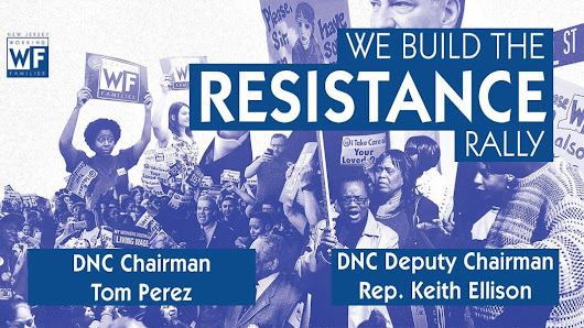 WE Build the Resistance Rally w/ Tom Perez And Keith Ellison