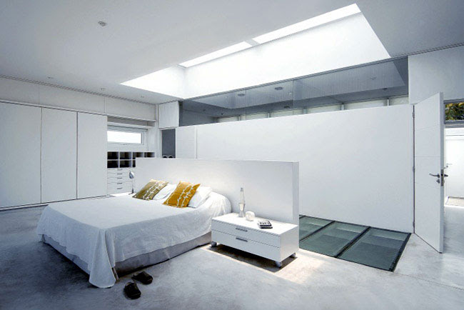 House with a Pool Inside - InteriorZine