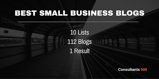 Best Small Business Blogs - Ultimate List of Lists
