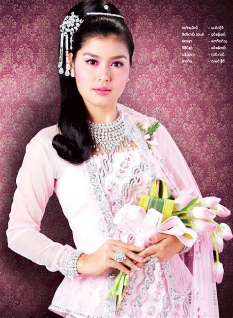 Myanmar Models: Melody and Khin Phone in Wedding Dresses