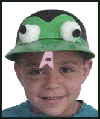 Frog<br />  Hat  : Parade Crafts Activities for Children