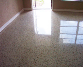 Install Bifold Doors New Construction Terrazzo Floor