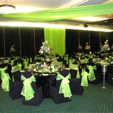 lime green and black wedding theme   my dream wedding