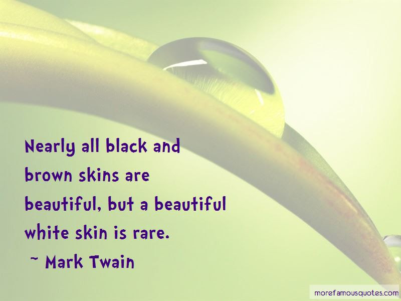 Quotes About Brown Skins Top 5 Brown Skins Quotes From Famous Authors